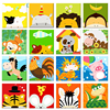 GATYZTORY Animals DIY Numbers Painting Kit Kids Image Paint By Numbers Hand Painted Unique Gift For Children Doctor 20x20cm