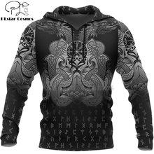 Viking warrior tattoo новый модный спортивный костюм Повседневный