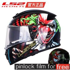 Original LS2 FF390 full face helm für Moto zyklus moto kreuz helme ECE zustimmung casque moto