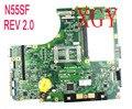 N55SF материнская плата REV2.0 для ASUS N55S N55SL материнская плата для ноутбука N55SF материнская плата 100% ТЕСТ ОК