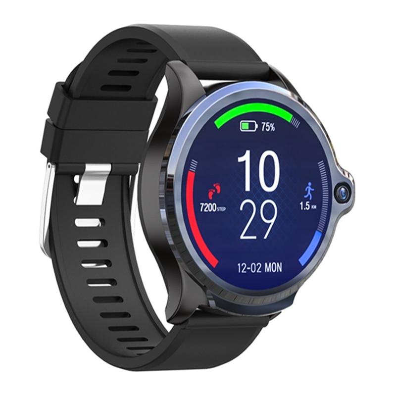 [Face Unlock]Kospet PRIME Smart Watch Phone 1.6' Face Identify 3G+32G Dual Camera 4G-LTE 1260mAh bluetooth Weather Forecast Map