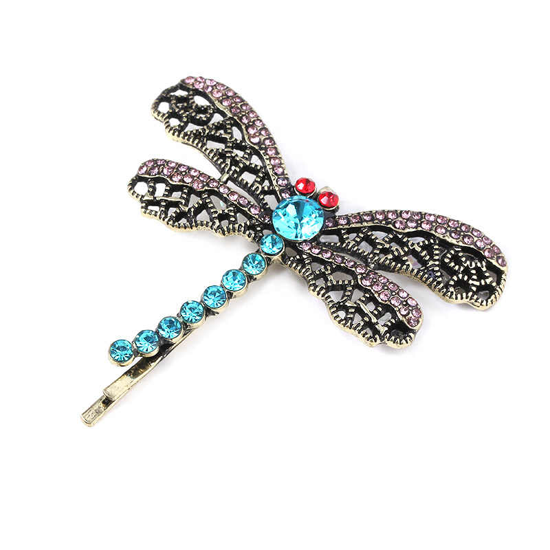 New Movie Coraline Hairpin Cute Kids Dragonfly Hair Clip Butterfly Crystal Hair Comb Brooch Pin Girls Women Jewelry Gifts Aliexpress