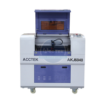 Cheap price cnc 6040 laser machine co2 laser engraver for small business