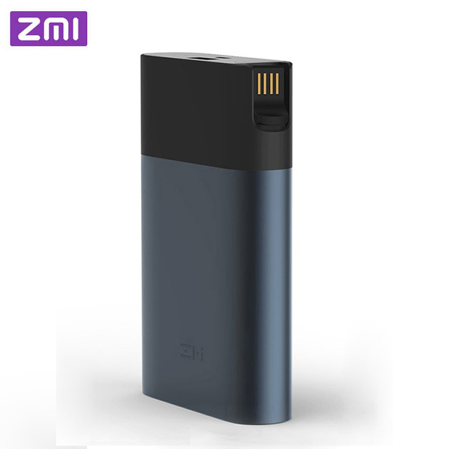 Ban Đầu ZMI Router Wifi 4G 10000 MAh Power Bank 3G Hotspot Di Động 4G LTE 10000 MAh QC 2.0 Sạc Nhanh Pin Dự Phòng Powerbank