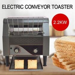 Komercyjny przenośnik elektryczny toster wyposażenie restauracji chleb Bagel Food