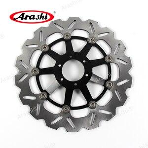 Image 2 - Arashi 1 par para honda cbr1100 xx cnc discos de freio dianteiro discos freio rotores cbr1100xx cbr 1100 xx 1100xx 1997 1998 motocicleta