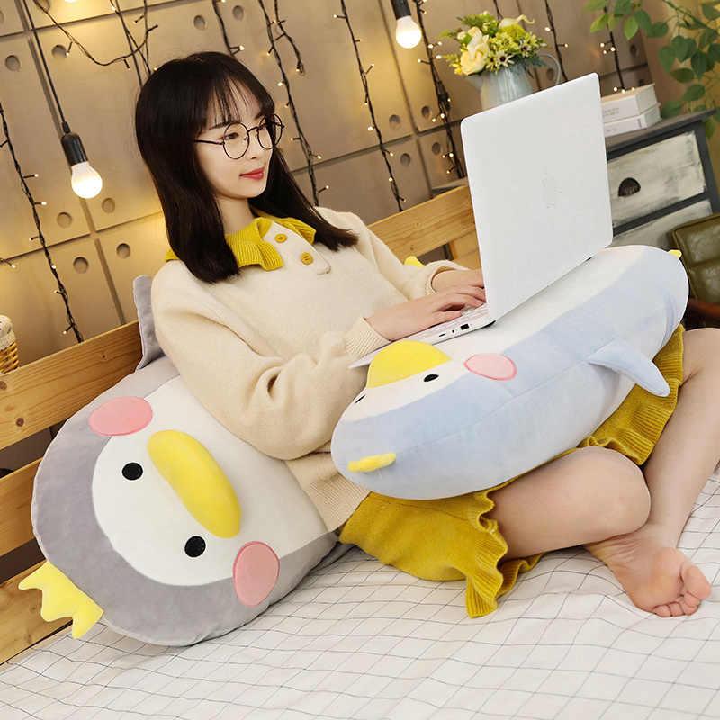 Panas 45 Cm/70 Cm/100 Cm Hewan Mewah Mainan Boneka Penguin Hewan Tangan Hangat Bantal Pacar Panjang besar Lembut Bantal Bantal Hadiah