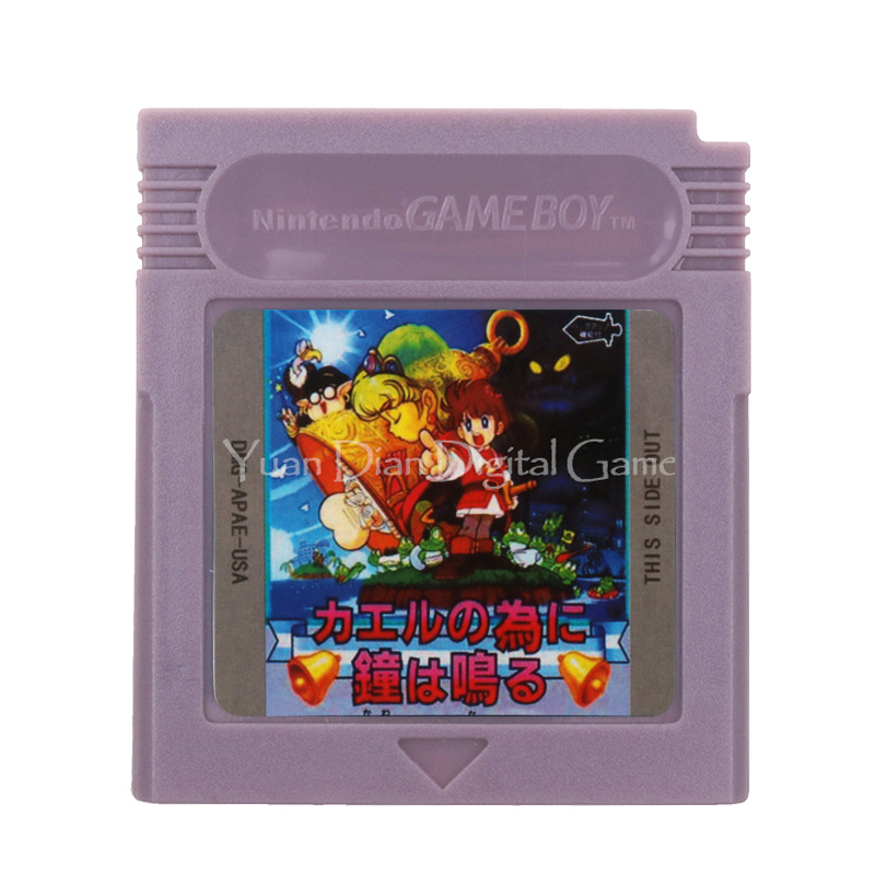 For Nintendo GBC Video Game Cartridge Console Card English Language Version 1