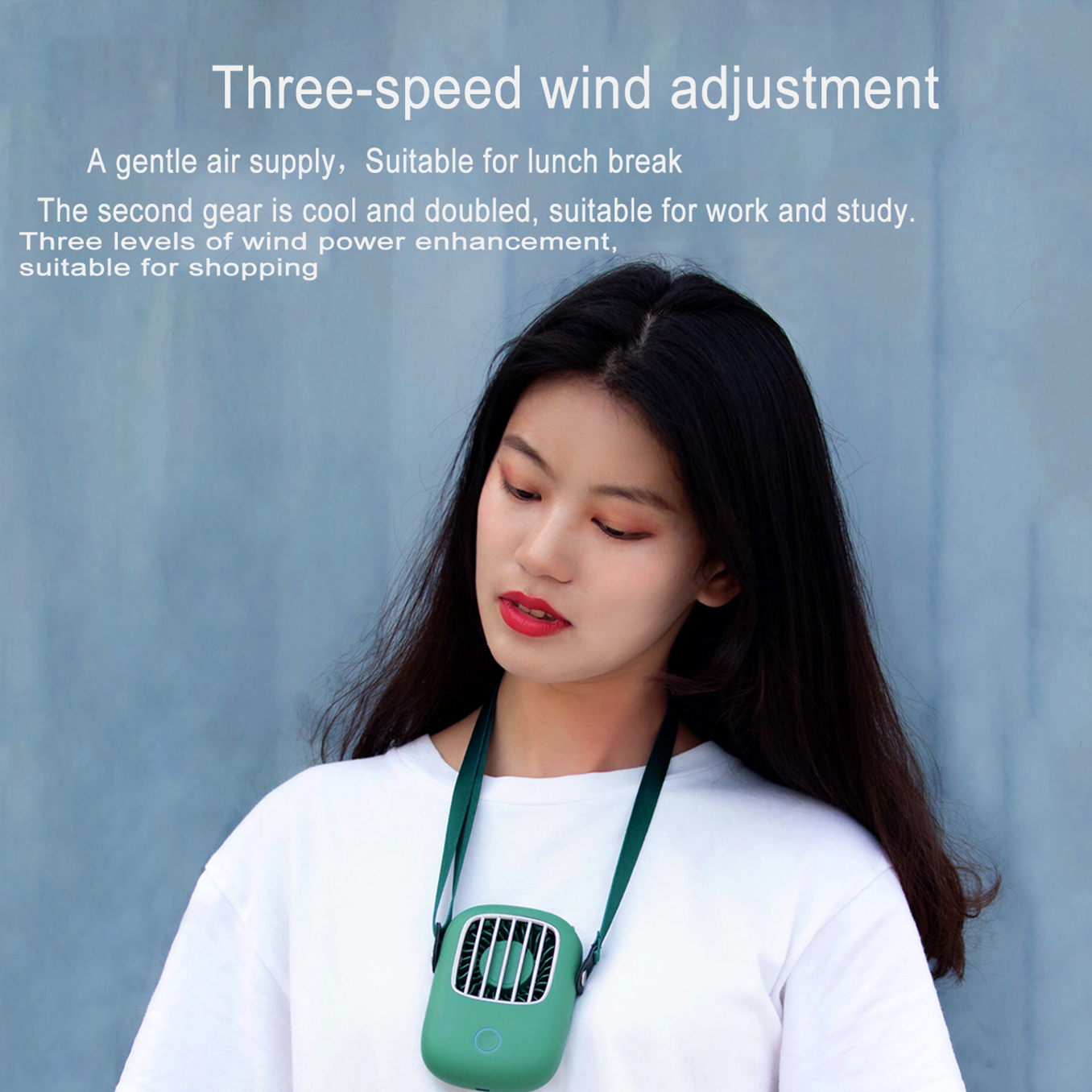 CATLION Mini Usb Neck Fan 5V Cooler Rechargeable Ventilador Outdoor Travel Handheld Portable Silent Small Fans Office