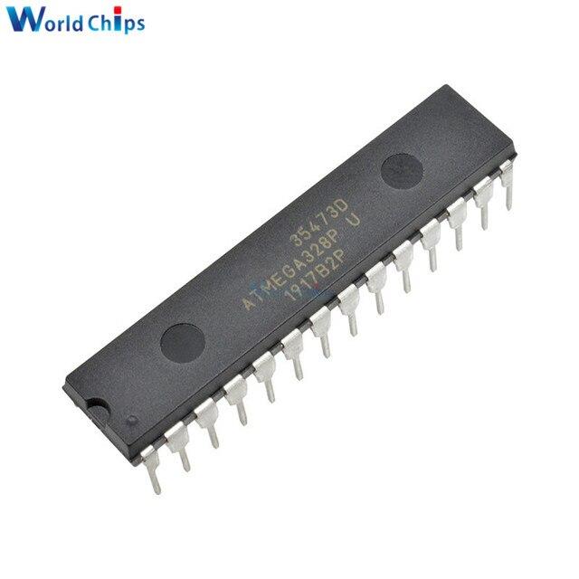 10 قطعة/الوحدة ATMEGA328P PU رقاقة IC ATMEGA328 328P متحكم DIP 28 لاردوينو
