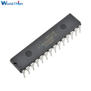 Image 1 - 10Pcs/lot ATMEGA328P PU CHIP IC ATMEGA328 328P Microcontroller DIP 28 for Arduino