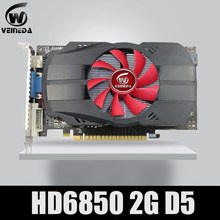 Original GPU Veineda Graphic card HD6850 2GB GDDR5 256Bit Game Video Card HDMI VGA DVI for ATI Radeon InstantKill GTX650,GT730(China)