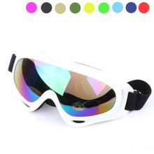 Gogle narciarskie X400 ochrona UV Sport Snowboard Skate gogle narciarskie tanie tanio KUUFY CN (pochodzenie) MULTI 5 5cm Z poliuretanu 17cm TP045 Octan