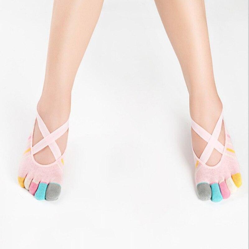 cinco toe bandagem esportes meias coloridas cinco