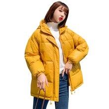 PinkyIsBlack 2019 Fashion Plus Size 2XL Down Jackets Women Winter Jas Short Thicken Warm Lower Katoon Coated