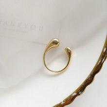 Shangzhihua необычное кольцо в форме воды индивидуальное простое