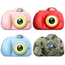 Mini Digital Camera 2 Inch Cartoon Cute Toys Children Birthday Gift 1080P Toddler camera