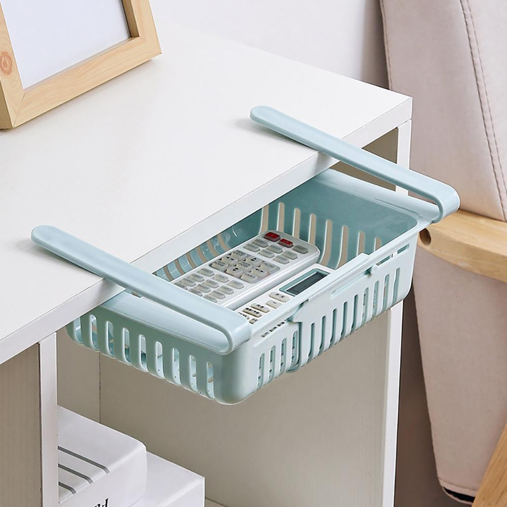 Creative Refrigerator Storage Box Adjustable Kitchen Refrige Vegetable Fruit Storages Basket PullOut Drawer Fresh Sort Organizer