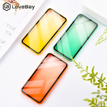 Lovebay Gradient Color Phone Cases For iphone X XS Max XR 7 8 6 6S Plus Soft Bumper +Hard Clear Fashion Back Case Cover Shells