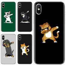 For Samsung Galaxy Note 3 4 5 8 9 S3 S4 S5 Mini S6 S7 Edge S8 S9 S10 Plus Cool dog cat rabbit mouse Loving Silicone Phone Case(China)