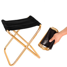 Creative Outdoor Mini Folding Fishing Chair Portable Collapsible Stool for Family Barbecue Camping Picnic