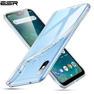 ESR чехол для Xiaomi Mi A2 Lite, Ультратонкий чехол из ТПУ для Redmi Note 5, прозрачный противоударный чехол с полным покрытием для Xiaomi Mi A2, чехол