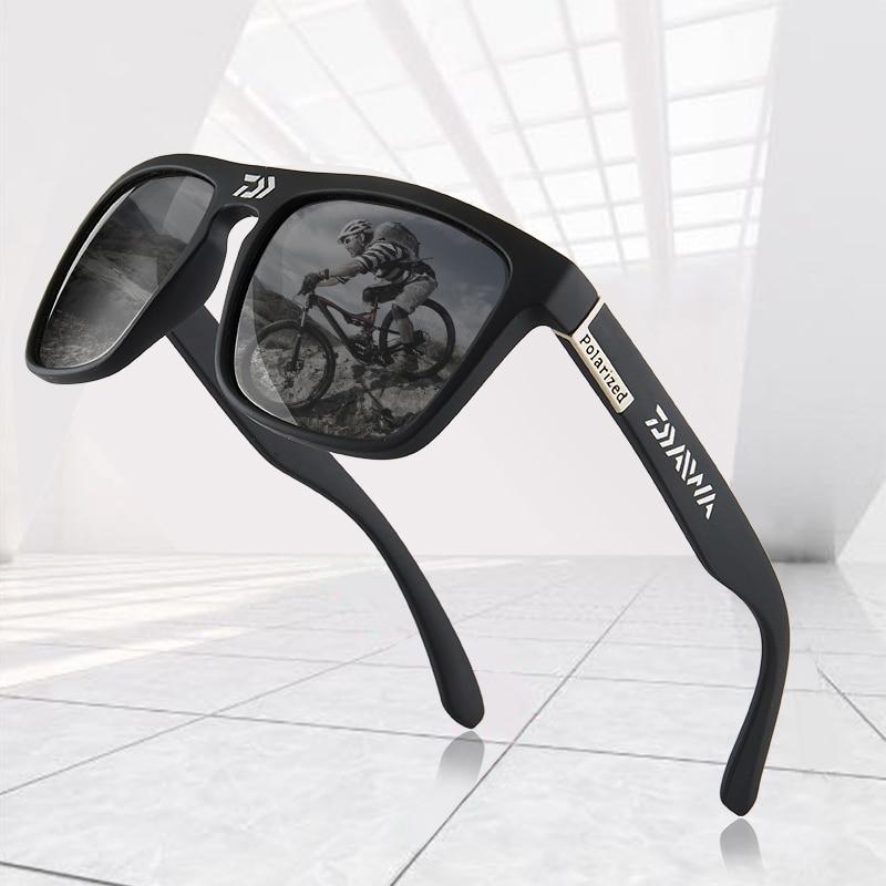 DAIWA 2020 occhiali da sole polarizzati occhiali da sole da uomo occhiali da sole maschili campeggio escursionismo pesca occhiali da sole classici occhiali UV400 2