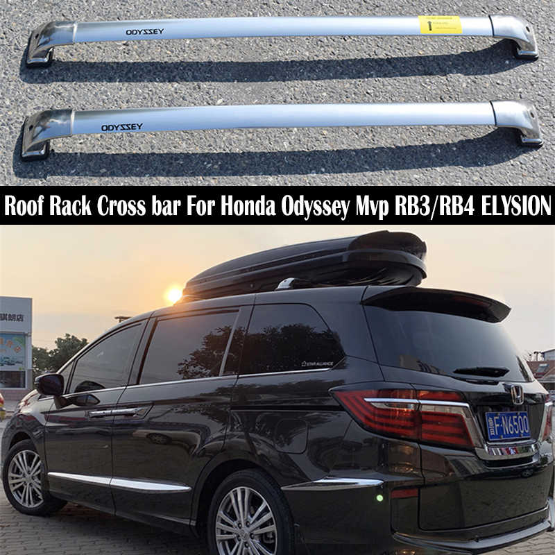 aluminium legierung dach rack fur honda odyssey mvp rb3 rb4 elysion schienen bar gepack trager bars top kreuz bar rack schiene boxen