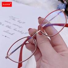 1PC nouveau Anti rayon bleu lunettes de lecture dame femmes cadre rouge ovale lecture presbytie lunettes femme ultraléger carré lunettes