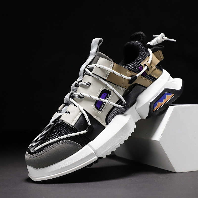 Image 4 - New Shoes Men Sneakers Fashion High Quality Spring Brand Design Fall Men Casual Shoes Adult Male Sneakers Soulier Homme TrainersMens Casual Shoes   -
