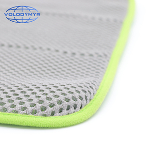 Image 4 - Microfiber Towel Car Cleaning Towel Auto Detailing Tools 40*40cm with Mesh for Car Clean Drying Detail Carwash Washing