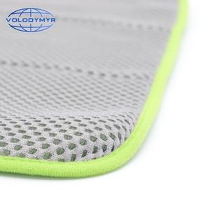 Image 4 - Toalla de microfibra, toalla para limpieza de coche, herramientas de Auto detalle 40*40cm con malla para limpieza de coches, detalle de secado, lavado de coches