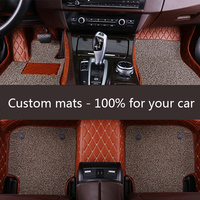 ZRCGL universal Car floor mat for Audi all model A1 A3 A8 A7 Q3 Q5 Q7 A4 A5 A6 S3 S5 S6 S7 S8 R8 TT SQ5 SR4 7 car styling