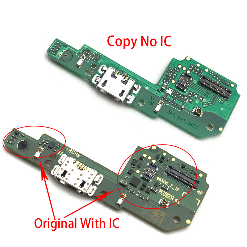 Original Microphone Module + USB Power Charging Port Board Flex Cable Connector Parts For Xiaomi Redmi 4 Pro 4A 4X 5A 6 6A 7A