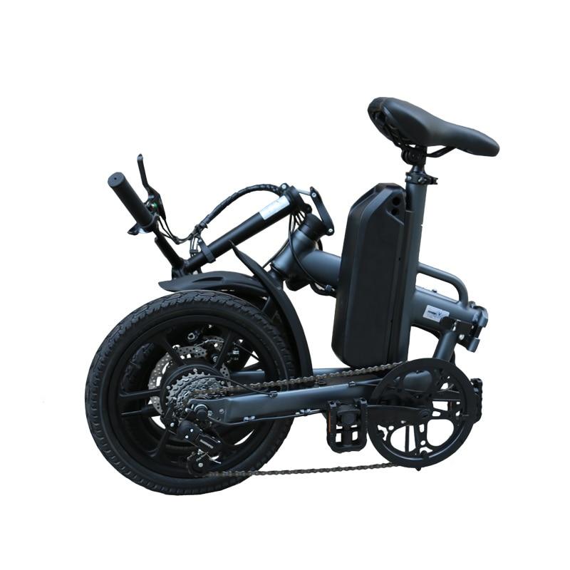 F16 plus folding ebike electric foldable bicycle 5