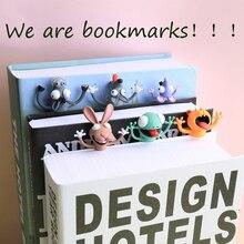 Stationery Bookmarks Shiba Inu School-Supplies Cartoon 10cm And Animal Pretty Panda Pvc-Material