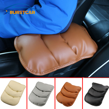 Car Armrest Cover Pad Center Console Arm Rest Seat Pad fit for Hyundai IX35 IX45 IX25 Sonata Verna Solaris Elantra Tucson image