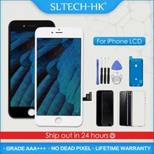 AAA + + + dla iPhone 5S 6 6S 7 8 Plus wyświetlacz LCD z zamiennikiem ekranu dotykowego 3D dla iPhone X XR XS Max OLED True Tone tanie tanio SLTECH-HK CN (pochodzenie) Pojemnościowy ekran 1920x1080 3 LCD For iPhone 5 6 7 8 X XR XS Display Screen LCD i ekran dotykowy Digitizer