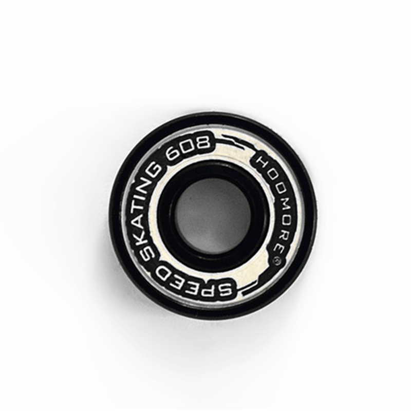 HOOMORE Abec-9 608rs Skating Bearing For High Speed Skates Shoes Dual Dustproof Cover 6 Beads Less Resistance Smooth 608 Bearing