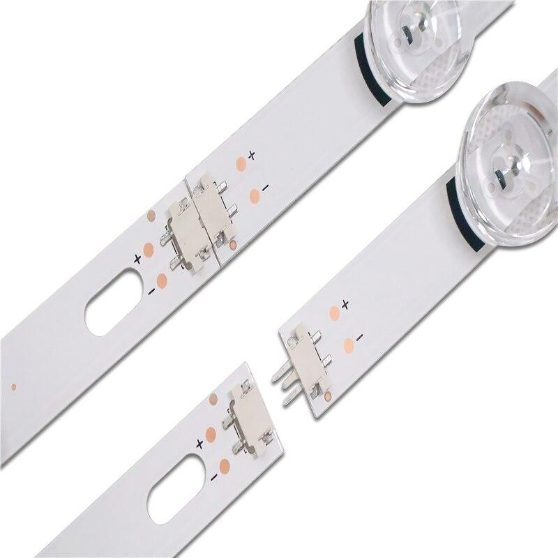 """עכברים - מקלדות new10pcs רצועת LED עבור LG Innotek ד.ר.ת 3.0 49"""" A / B 49LB5500 49LB550V 49LB5550 6916L-1944A 6916L-1945A 6916l-1788A 6916l-1789A (4)"""
