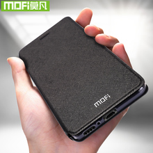 Original Mofi สำหรับ Xiao Mi Mi 10 Case สำหรับ Xiao Mi Mi หมายเหตุ 10 Pro ซิลิโคนพลิกหนัง 360 กันกระแทก Mi 10 Pro TPU Capas