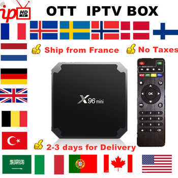French IPTV X96 mini Android TV Box +IPTV France Nordic Sweden Arabic Belgium Netherland UK Turkey Italia portugal smart tv box - DISCOUNT ITEM  27% OFF All Category