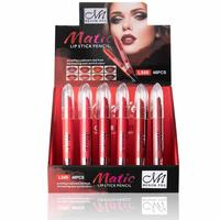 48pcs/set 6 Colors Lips Pen Moist lipstick Makeup Sexy Beauty Cosmetic Waterproof Lip Pencil Lipstick Suit
