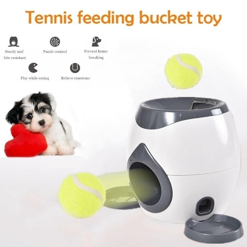 Round Pet Slow Food Bowl Training Toy Food Reward Machine Diet ABS+PP Dog Pet Feeder Puzzle Pet Supply Dog Supply Watering Tools