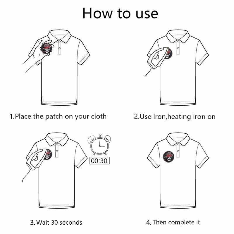 1 個漫画スタイルライフアイコン刺繍音楽アイコンパッチ服スイッチアイコンジーンズ衣類 diy wifi アップリケアクセサリー