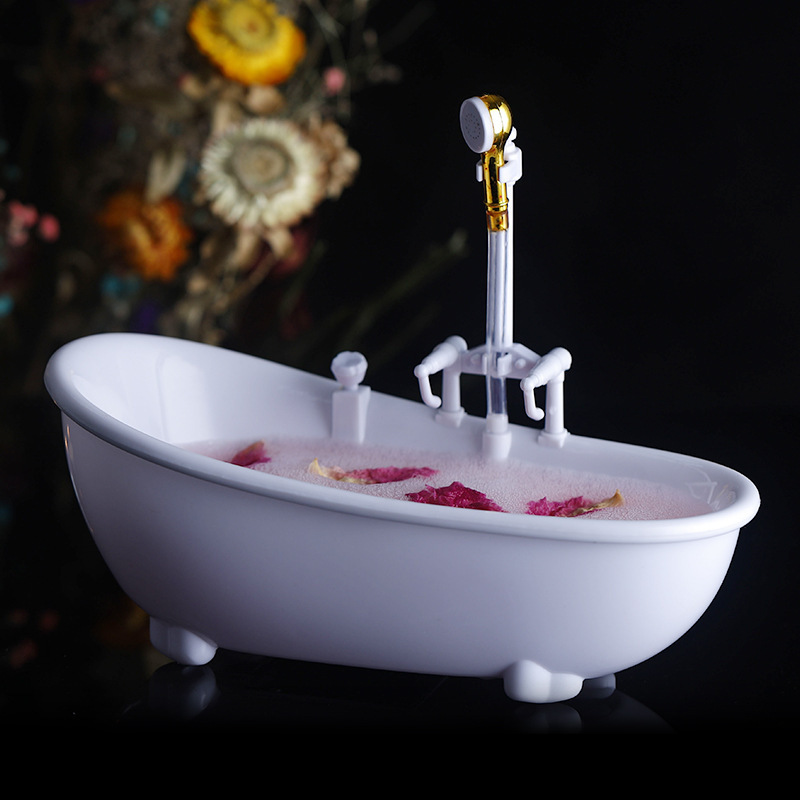 Bathtub Cocktail Bar Wine Glasses Charms Sorbet Smoothie Cold Drink Cup Container G10