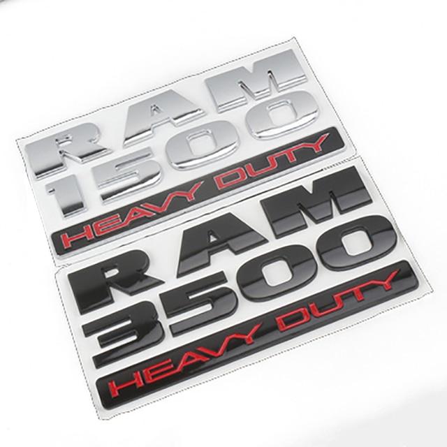 3D Car Rear Stickers Exterior for RAM Emblem Badge Car Styling for Dodge RAM Nitro Challenger Ram 1500 Durango Caravan Caliber 2