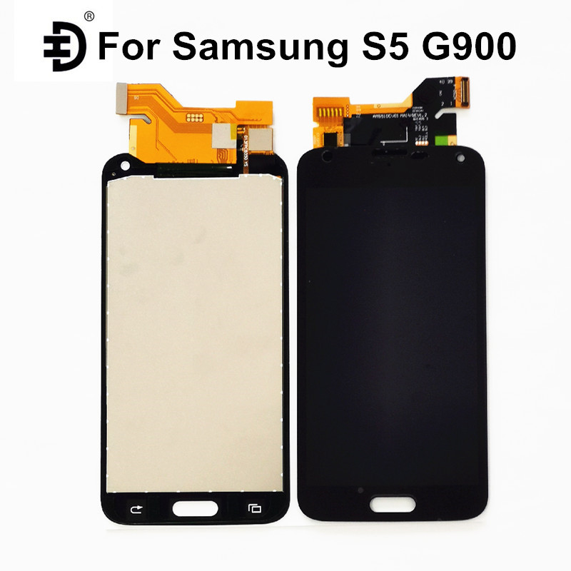 5.1'' LCD For Samsung Galaxy S5 G900F Screen LCD <font><b>Display</b></font> Touch Screen Digitizer <font><b>Display</b></font> For Samsung S5 <font><b>G900H</b></font> LCD Replacement image