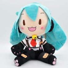 New Style Hatsune Miku Vocaloid Series Japanese-style Anime Plush Toy Doll Cat Ear Hatsune(China)