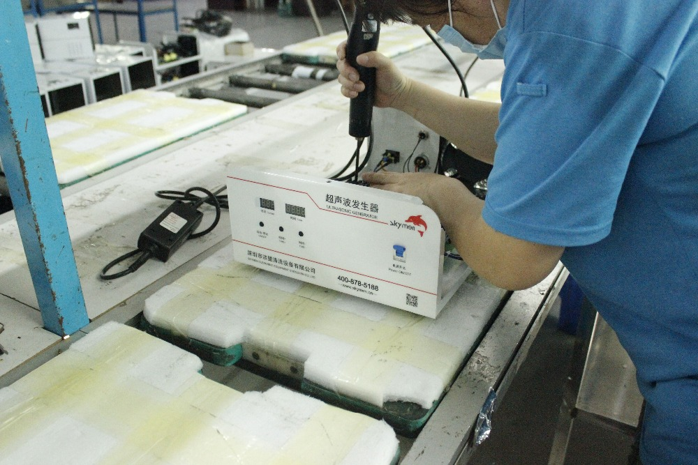 Ultrasonic Plastic Welding Machine With 35KHZ Frequency For Disposable And KN95 Masks 12